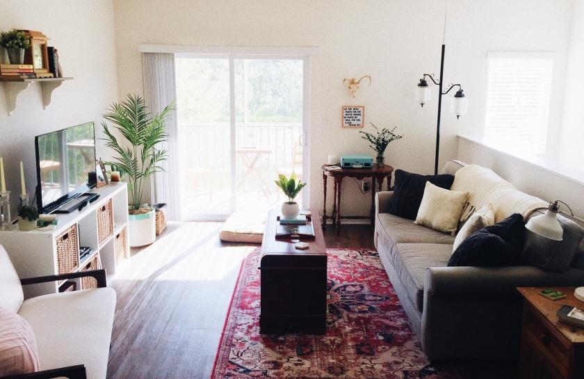 living room, interior design, decor, magnolia, apartment